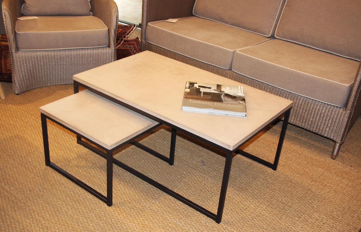 table basse b ton cir une s lection au charme du logis. Black Bedroom Furniture Sets. Home Design Ideas