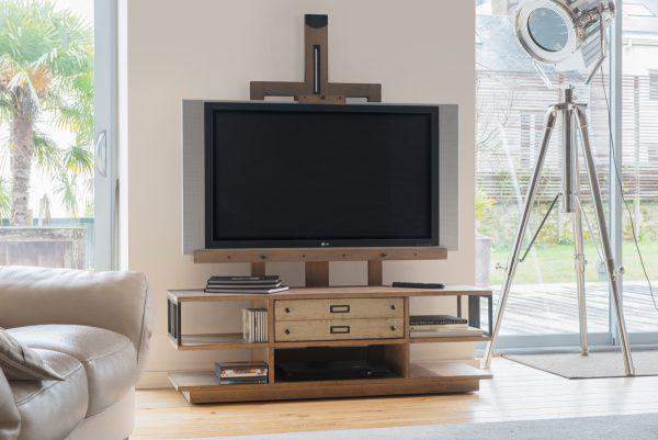 meuble tv chevalet artcopi