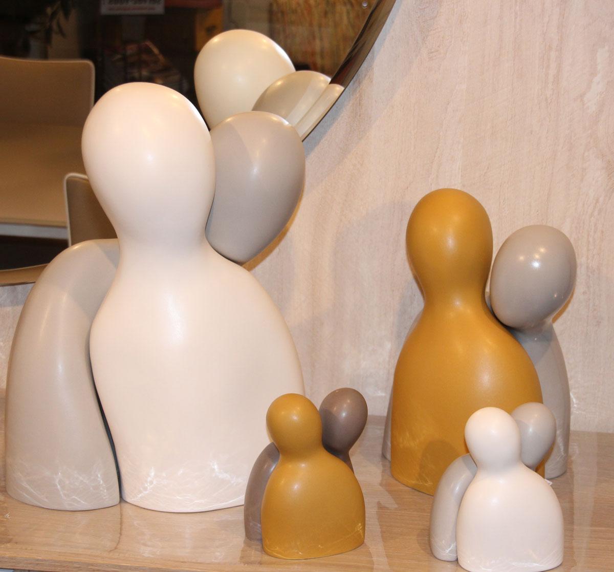 les couples Love de la faiencerie de Charolles au charme du Logis