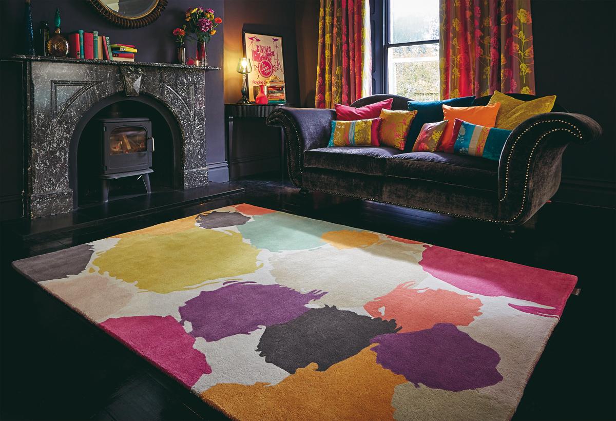 Decouvrez la collection des tapis harlequin charme du for Tapis jonc de mer avec magasin canape 06