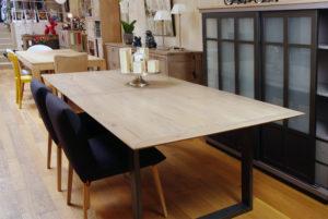 Table, bois et alu quimper