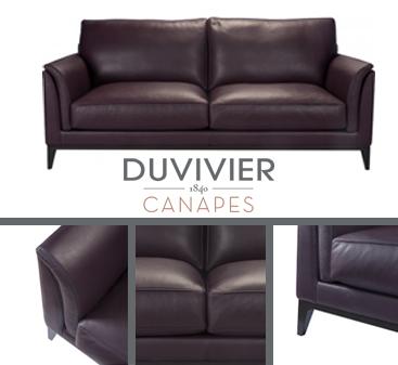 Le canap caudalie en cuir d couvrir quimper for Canape duvivier