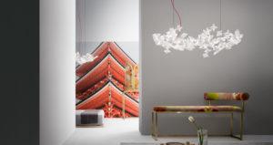 Lampe Hanami de Slamp
